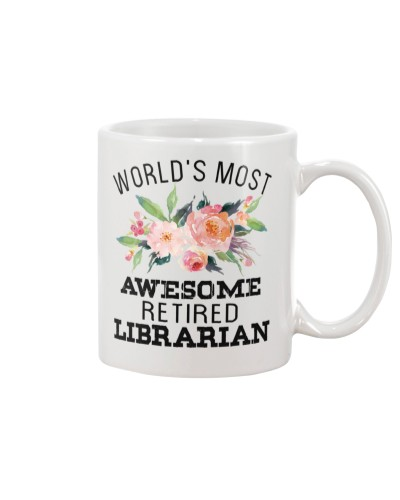 Retired Librarian - World's Most Awesome