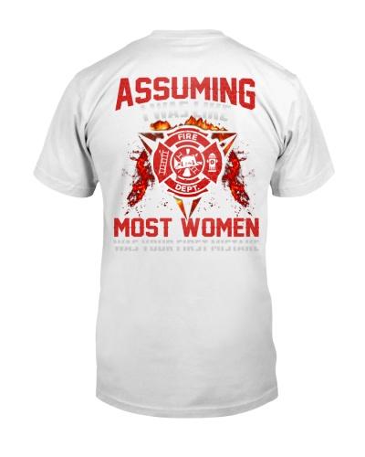 Firefighter - Not most women