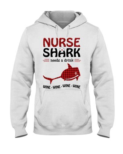 Christmas Nurse - Shark Needs A Drink
