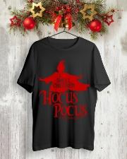 Teacher - I smell children Hocus Pocus  Classic T-Shirt lifestyle-holiday-crewneck-front-2