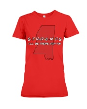 Students Be There - Mississippi Premium Fit Ladies Tee thumbnail