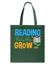 Librarian - Reading Help Us Grow Tote Bag thumbnail
