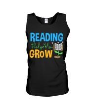 Librarian - Reading Help Us Grow Unisex Tank thumbnail