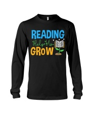 Librarian - Reading Help Us Grow Long Sleeve Tee thumbnail