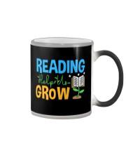 Librarian - Reading Help Us Grow Color Changing Mug thumbnail