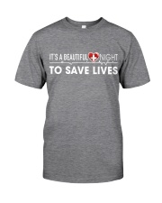 Beautiful Day Save Lives Classic T-Shirt tile