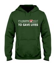 Beautiful Day Save Lives Hooded Sweatshirt thumbnail