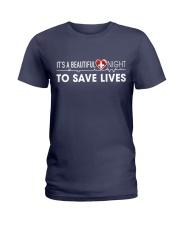 Beautiful Day Save Lives Ladies T-Shirt thumbnail
