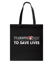 Beautiful Day Save Lives Tote Bag thumbnail