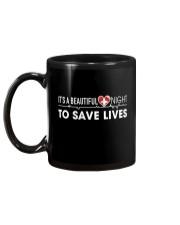 Beautiful Day Save Lives Mug back