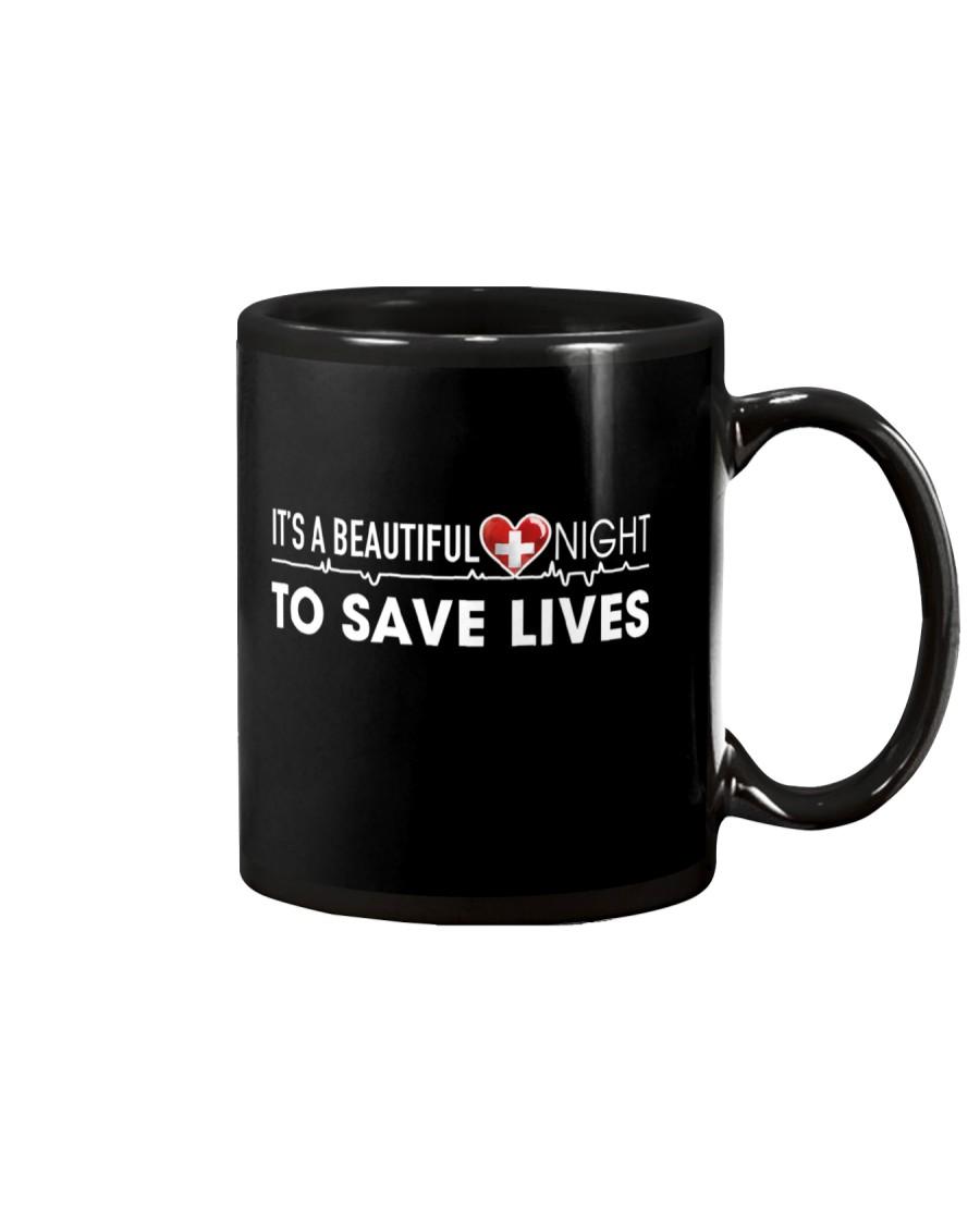 Beautiful Day Save Lives Mug
