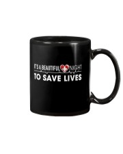 Beautiful Day Save Lives Mug front