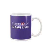 Beautiful Day Save Lives Mug thumbnail