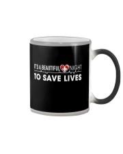 Beautiful Day Save Lives Color Changing Mug thumbnail