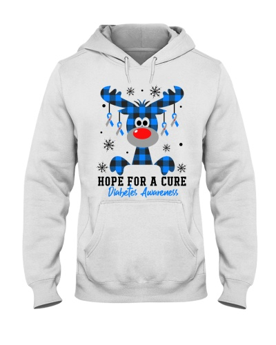 Diabetes - Christmas - Hope for a Cure - Reindeer