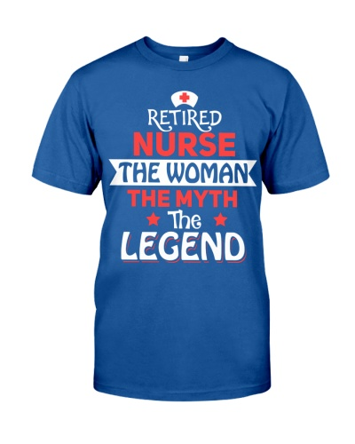 Retired Nurse - The Woman