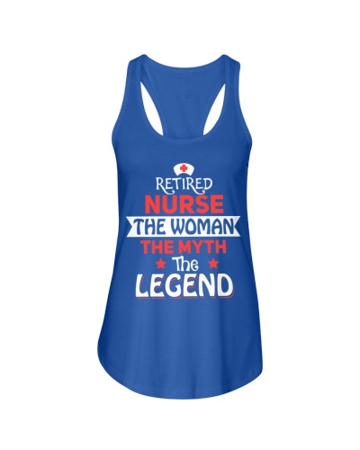 Retired Nurse - The Woman
