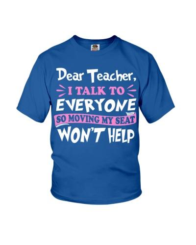 Dear Teacher Won't Help