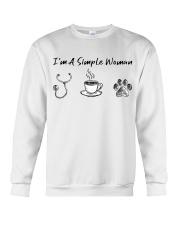 Nurse - I'm a simple woman  Crewneck Sweatshirt thumbnail