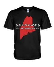 Students Be There - Maine V-Neck T-Shirt thumbnail