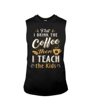 Teacher - Coffee Sleeveless Tee thumbnail