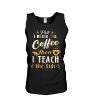 Teacher - Coffee Unisex Tank thumbnail