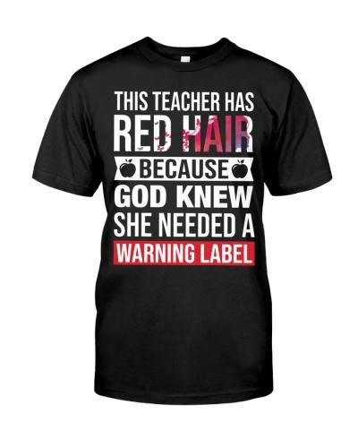 Teacher -  Red hair