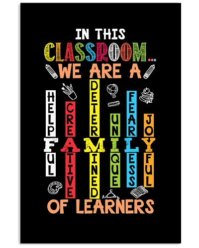 Teachers - We are a Family of Learners