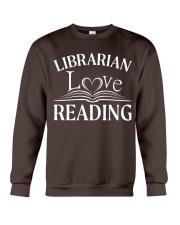 World Book Day - Librarian Love Reading Crewneck Sweatshirt thumbnail