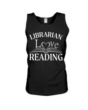 World Book Day - Librarian Love Reading Unisex Tank thumbnail