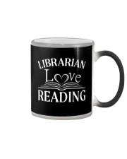 World Book Day - Librarian Love Reading Color Changing Mug thumbnail
