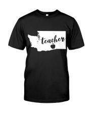 Washington Teacher - Map Premium Fit Mens Tee thumbnail
