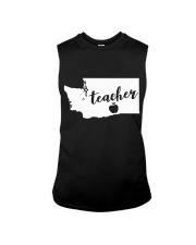 Washington Teacher - Map Sleeveless Tee thumbnail