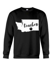 Washington Teacher - Map Crewneck Sweatshirt thumbnail