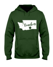 Washington Teacher - Map Hooded Sweatshirt thumbnail