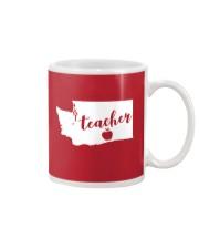 Washington Teacher - Map Mug thumbnail