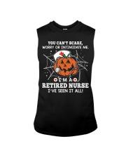 Retired Nurse - You can't scare me Sleeveless Tee thumbnail