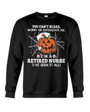 Retired Nurse - You can't scare me Crewneck Sweatshirt thumbnail
