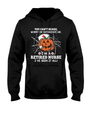 Retired Nurse - You can't scare me Hooded Sweatshirt thumbnail