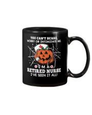 Retired Nurse - You can't scare me Mug thumbnail