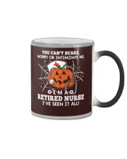 Retired Nurse - You can't scare me Color Changing Mug thumbnail