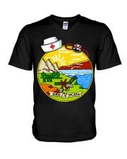 Nurse - National Nurse Week for Montana V-Neck T-Shirt thumbnail