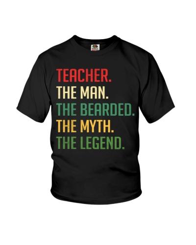 Bearded Teacher - The Man - The Legend