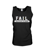 Fail Meaning Unisex Tank thumbnail
