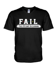 Fail Meaning V-Neck T-Shirt thumbnail
