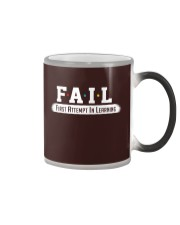 Fail Meaning Color Changing Mug thumbnail