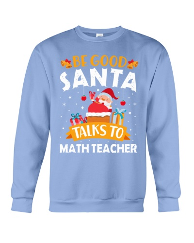 Math Teacher  - Good Santa