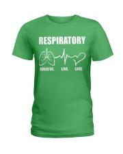 Respiratory - Breathe Ladies T-Shirt thumbnail