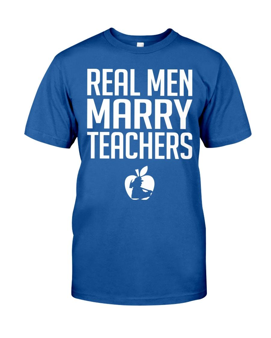 Marry Teachers - Firefighter Classic T-Shirt