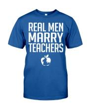 Marry Teachers - Firefighter Classic T-Shirt front